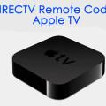 DIRECTV Remote Codes for Apple TV