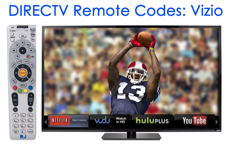 Directv Vizio Tv Remote Codes Locate The Right Code For The Remote