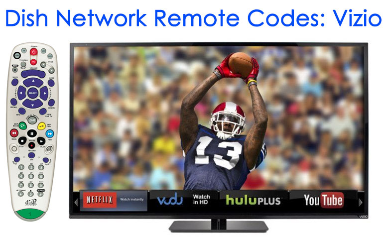 Dish Network Vizio Remote Codes